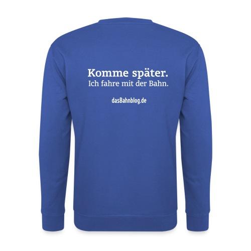 dasBahnblog Sweatshirt - Männer Pullover