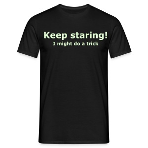 Keep staring - T-shirt herr