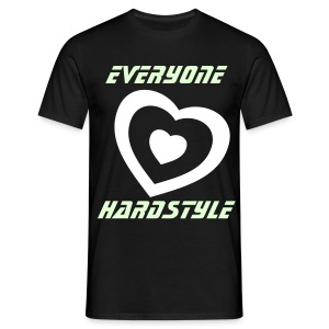 Everyone love Hardstyle - T-shirt herr