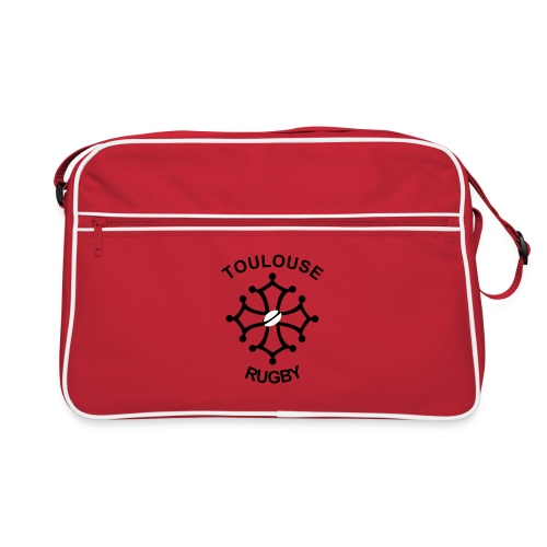 Sac rouge Toulouse Rugby - Sac Retro
