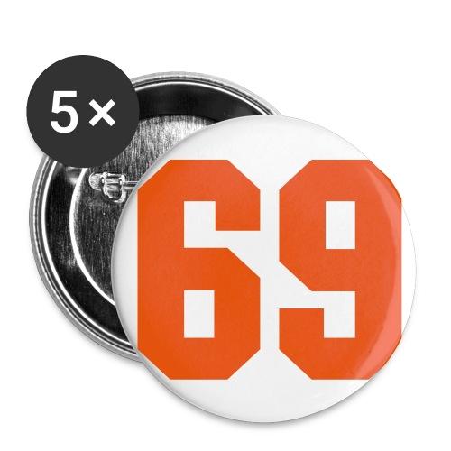 Anstecker klein (69) - Buttons klein 25 mm