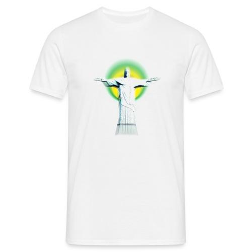 Christ Redeemer - Men's T-Shirt