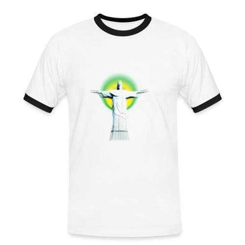 Christ Redeemer - Men's Ringer Shirt
