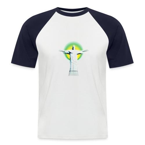 Christ Redeemer - Men's Baseball T-Shirt