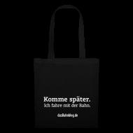 Taschen & Rucksäcke ~ Stoffbeutel ~ dasBahnblog Bahnfahrer-Tasche