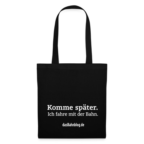 dasBahnblog Bahnfahrer-Tasche - Stoffbeutel