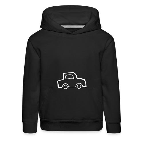 lasten auto huppari - Lasten premium huppari