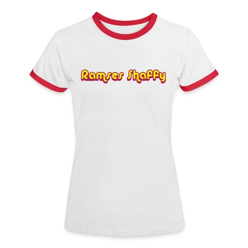 Ramses Shaffy Women - Vrouwen contrastshirt