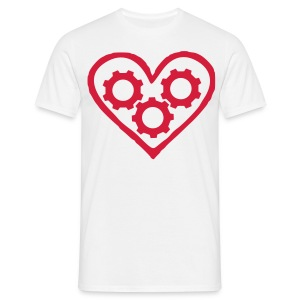 Machineheart logo tee - Men's T-Shirt