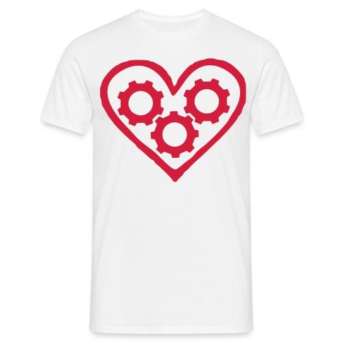 Machineheart logo tee - Men's T-Shirt