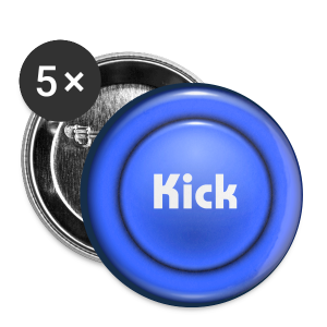 ButtonKick - Buttons medium 32 mm