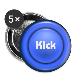 ButtonKick - Buttons large 56 mm