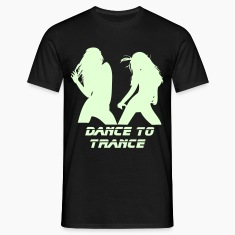 Black Dance to Trance Men's Tees