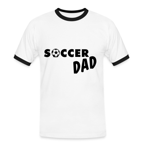 Soccer dad - Men's Ringer Shirt