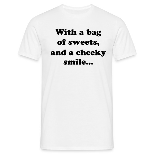 bag of sweets - Men's T-Shirt