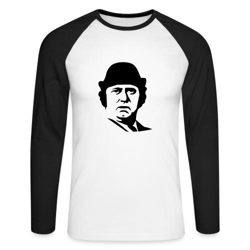 dance bebeh - Langermet baseball-skjorte for menn
