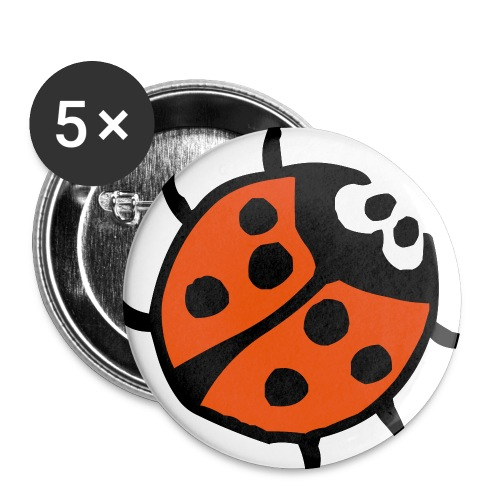 nyckelplupp - Små knappar 25 mm