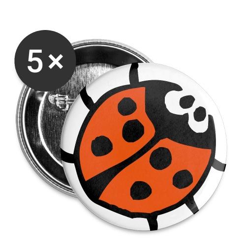 nyckelplupp - Små knappar 25 mm (5-pack)