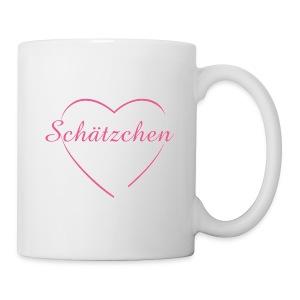 FIw_Schätzchen mit Herz - Tasse