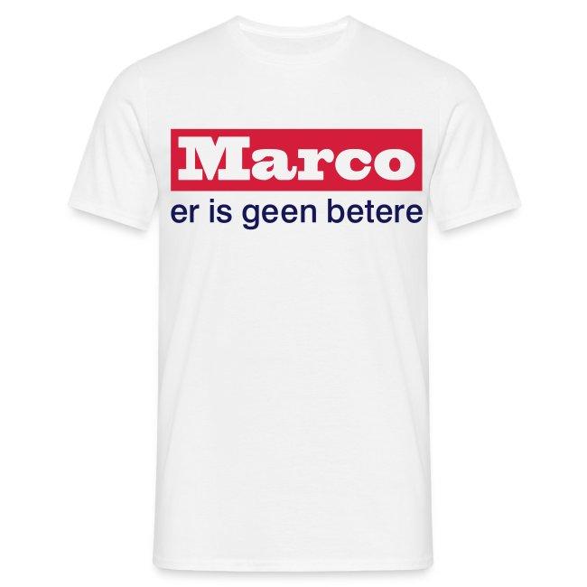 Marco er is geen betere