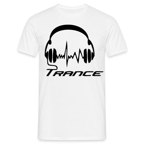 Trance Headphones - Men's T-Shirt