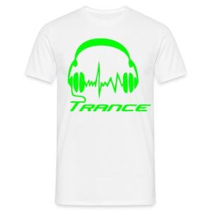 Trance Headphones - Neongreen - T-shirt herr