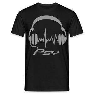Psy Headphones - Reflex - T-shirt herr