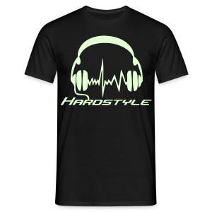 Hardstyle Headphones - Glow in the dark - T-shirt herr