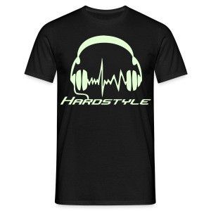 Hardstyle Headphones - Glow in the dark - T-shirt herr