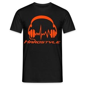 Hardstyle Headphones - Neonorange - T-shirt herr