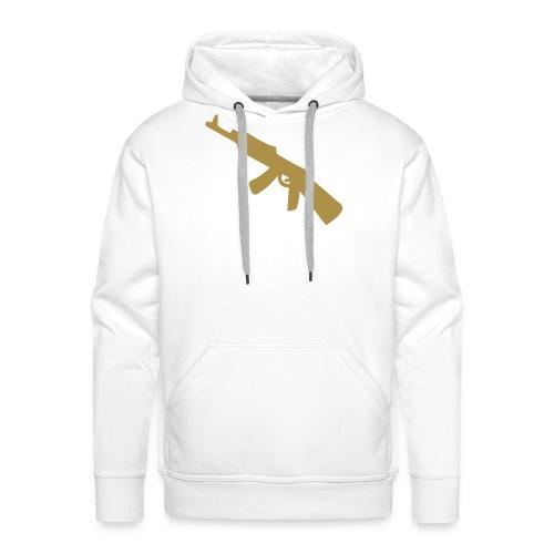 hoody L.26 white - Sweat-shirt à capuche Premium pour hommes
