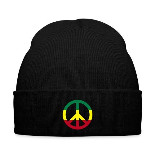 Jamaica Peace (Flockdruck) -Wintermütze - Wintermütze