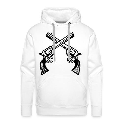 Pullover - Gun - Männer Premium Hoodie