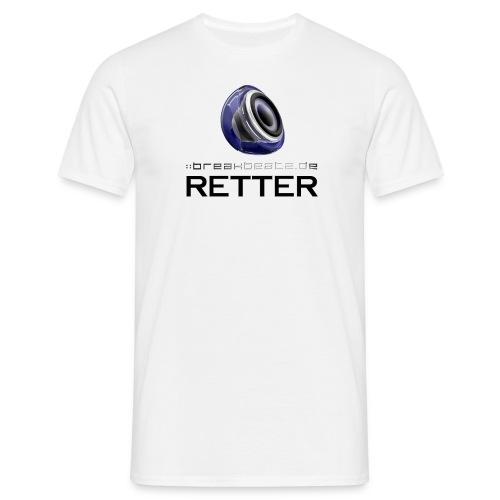 breakbeatz.de Retter - Männer T-Shirt