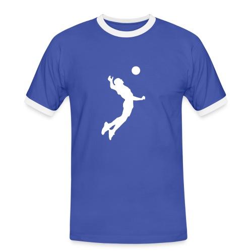 T-shirt volley Italie, Italia au dos  - T-shirt contrasté Homme