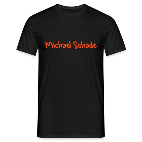 Michael Schade - Orange - Männer T-Shirt