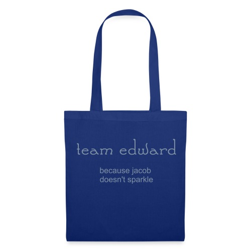 team edward bag - Stoffbeutel