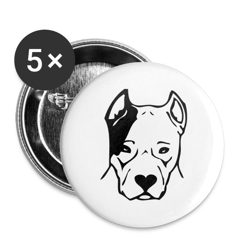dogs - Buttons large 2.2''/56 mm (5-pack)