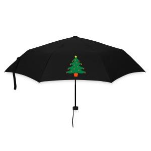 Merry Christmas Tree Umbrella  - Umbrella (small)
