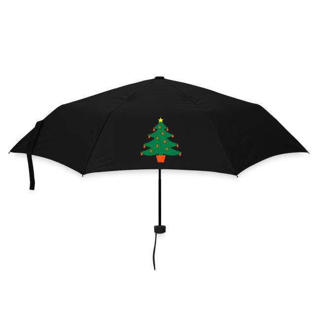 Merry Christmas Tree Umbrella