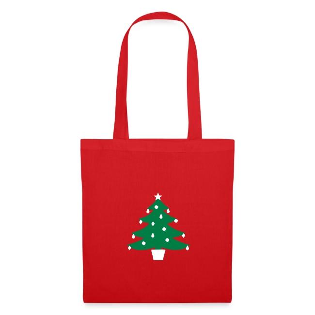 Christmas Tree Glow Tote Bag