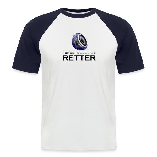 breakbeatz.de Retter - Männer Baseball-T-Shirt