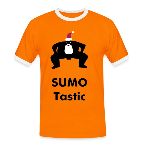 santa sumo - Men's Ringer Shirt