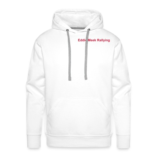 EMR Hooded Sweatshirt - White - Men's Premium Hoodie