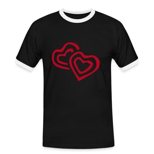 Lovesession - Männer Kontrast-T-Shirt