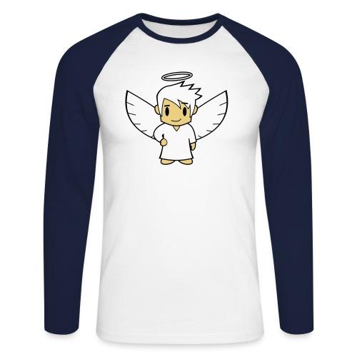 Engel Shirt - Männer Baseballshirt langarm