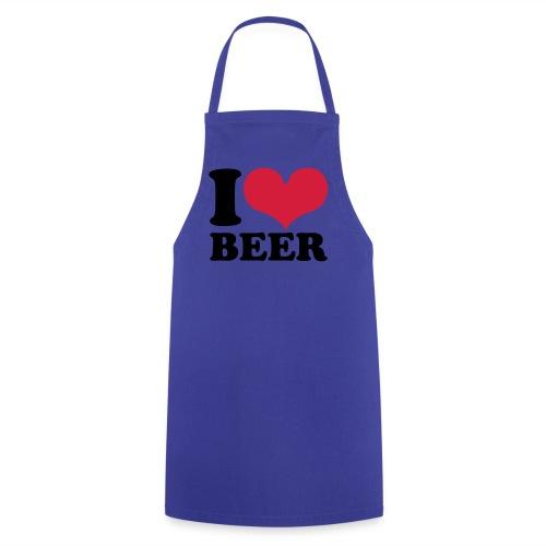 Schürze i love beer - Kochschürze