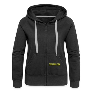 Alice is cool Hoody BY - Women's Premium Hooded Jacket