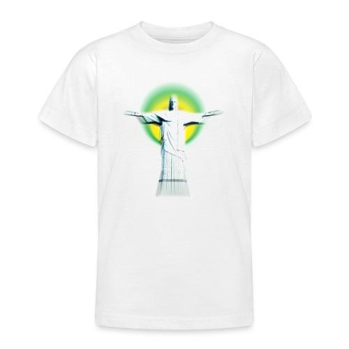 Christ Redeemer - Teenage T-shirt