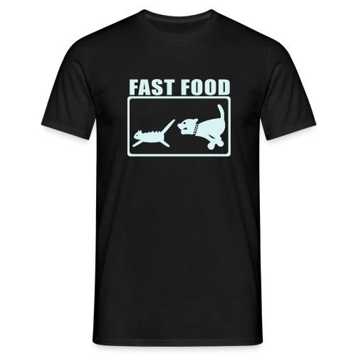 Fast Food - Herre-T-shirt
